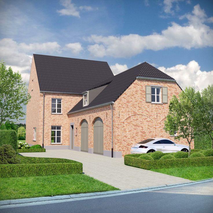 Baanarchitecten ontwerp landelijke woning in pastorijstijl authenticity pinterest interior - Deco moderne woning ...