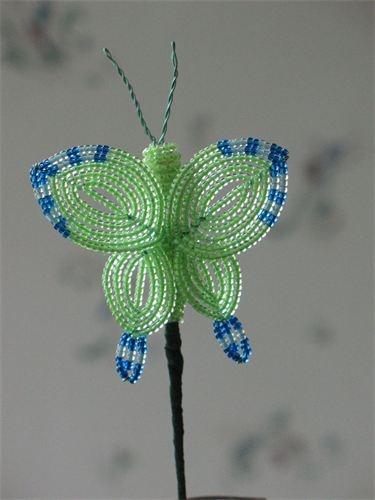 Laura's Beaded Creations - Beaded butterflies