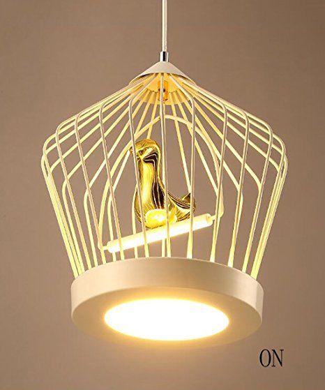 Bird Cage lampadario stile europeo Postmoderno Semplice luci d'arte ristorante Bar Camera da letto lampadario di studio bar lampadario Luci di soffitto ( Colore : A ): Amazon.it: Illuminazione