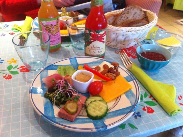 Afternoon platter from 'Savilla' in Lundø, Denmark