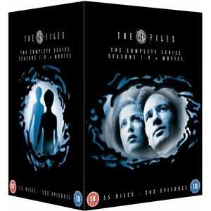 The X-Files: Complete Seasons 1 - 9 And Movies (55 Discs)