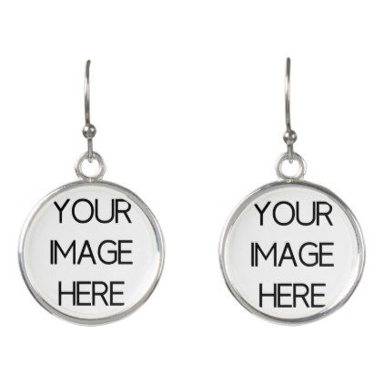 Design Your Own Earrings Template Gifts Custom Diy Customize Templates Cyo Pinterest