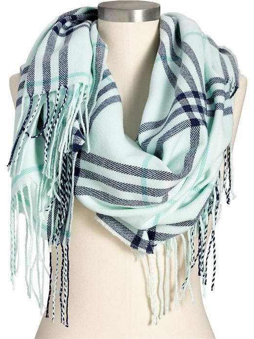 Women's Plaid Flannel Scarves Product Image