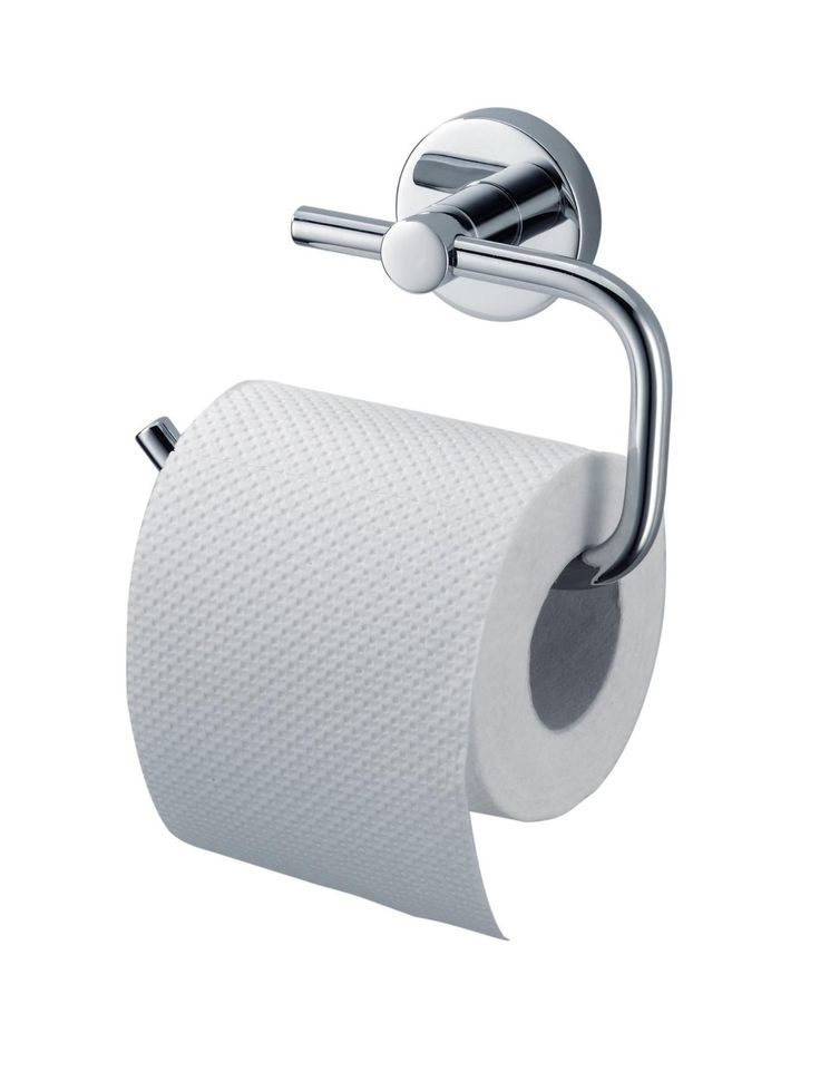Haceka Kosmos Toilet Roll Holder - it's time to show off your bathroom's curves! Haceka have been redesigning bathrooms with fresh styles since 1924, and their Kosmos range of accessories uses the irresistible combination of chrome and curves.This toilet roll holder has a shiny surface that catches the light, adding a touch more brightness to your bathroom, en suite or WC. Complete with fittings, the modern toilet roll holder will help turn your room into a more contemporary and striking…