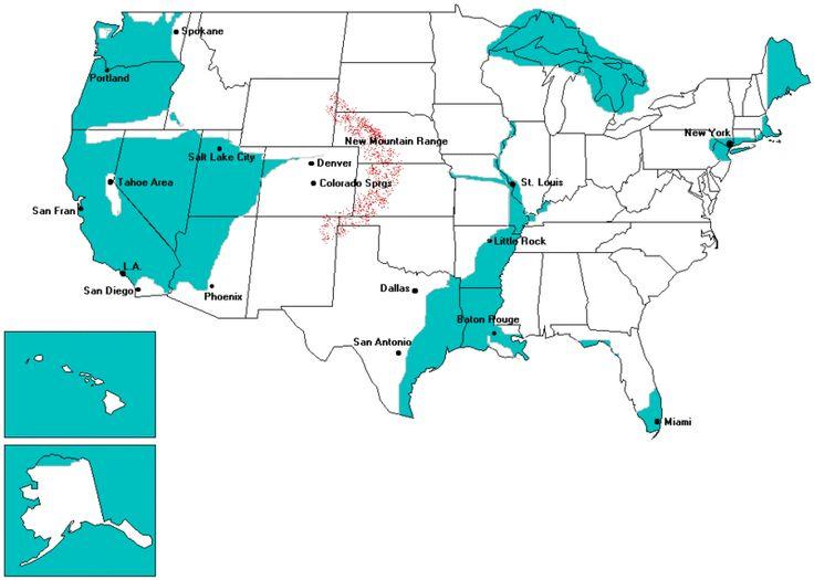 Ozark Mountain Are A Safe Refuge Area For Christian Preppers A - Ozark plateau on us map