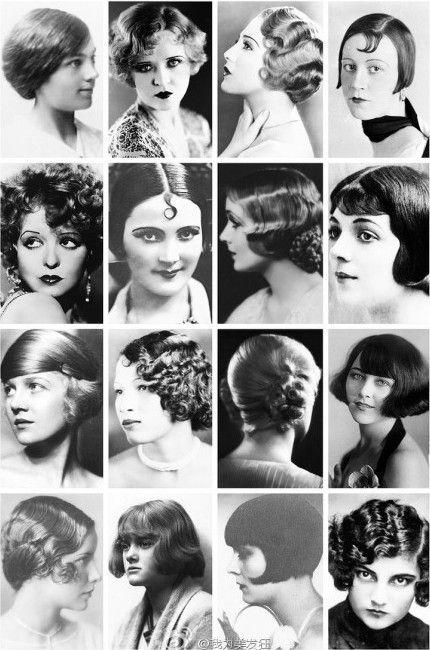 1920's Vintage Hair Styles