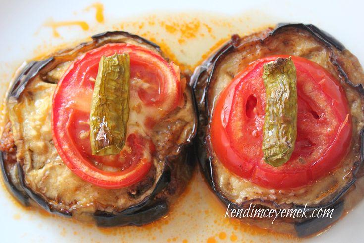 Patlıcan Oturtma Lokum gibi oldular http://www.kendimceyemek.com/2013/07/01/patlican-oturtma/
