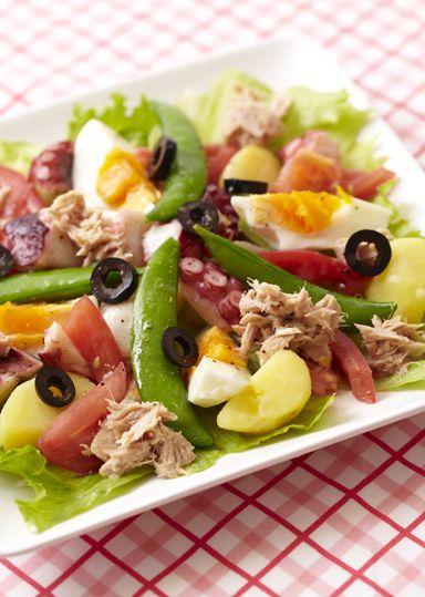 ニース風サラダ のレシピ・作り方 │ABCクッキングスタジオのレシピ | 料理教室・スクールならABCクッキングスタジオ