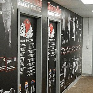 Gardner-Webb Wall Graphics