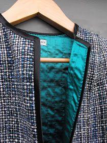 Suzy Bee Sews: Vogue 7975: Chanel style jacket - Finished!