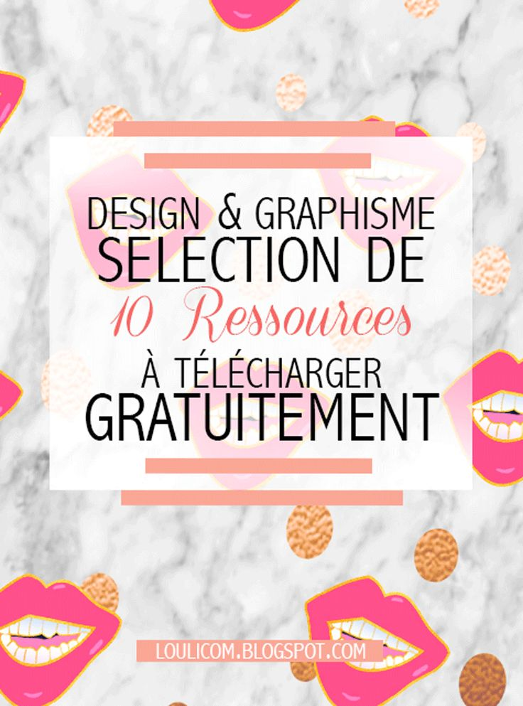 Design et Graphisme: 10 superbes ressources gratuites
