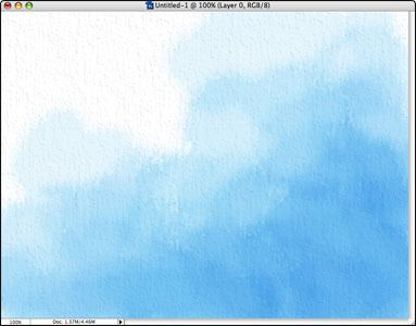 How to imitate watercolor in Photoshop