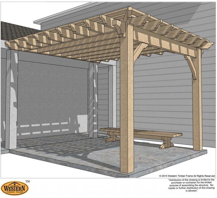 59 best DIY Pergolas, Decks & Patio Ideas images on ...