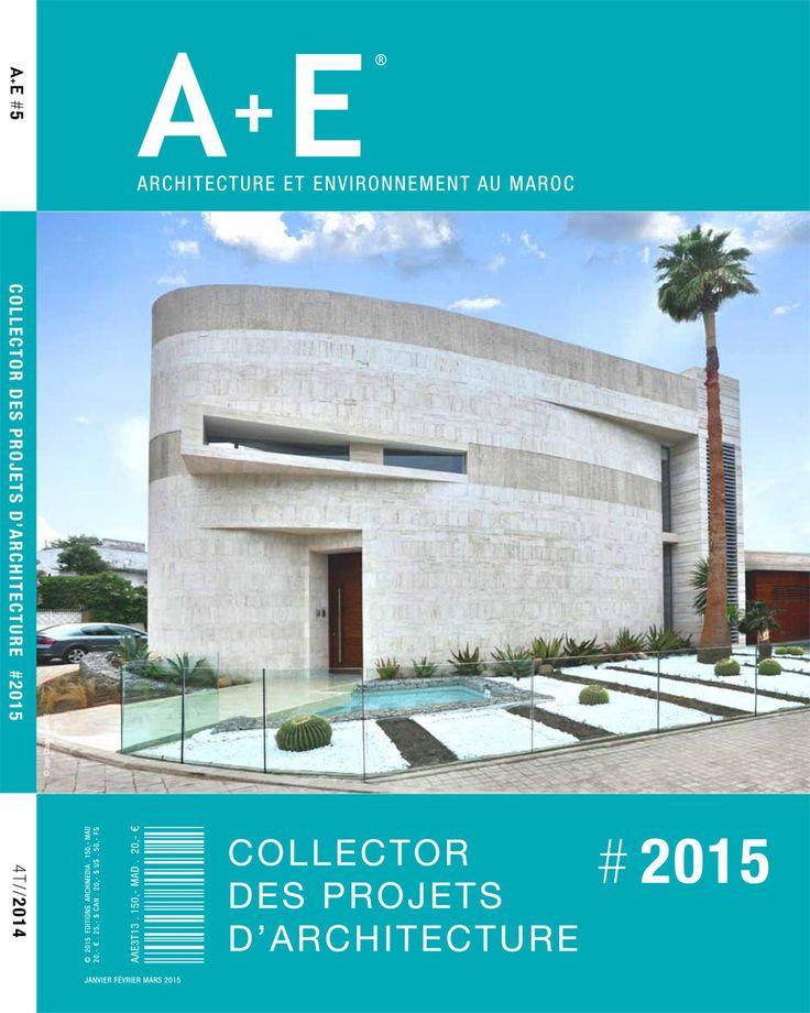 A e architecture et environnement au maroc magazines et for Livres architecture batiment construction