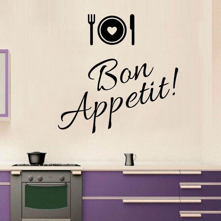 Adesivi da parete Bon Appetit Wall Sticker https://www.adesiviamo.it/prodotto/1200/Adesivi-da-parete/Adesivi-da-parete/Bon-Appetit-Wall-Sticker-Adesivo-da-Parete.html