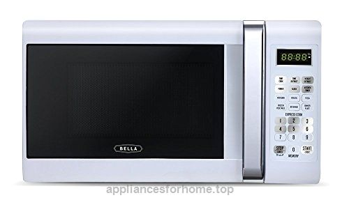 Bella 700-Watt Compact Microwave Oven, 0.7 Cubic Feet, White with Chrome  Check It Out Now     $68.92    Bring a touch of fun and style to your kitchen with the compact countertop microwave from Bella. This small but might ..  http://www.appliancesforhome.top/2017/04/06/bella-700-watt-compact-microwave-oven-0-7-cubic-feet-white-with-chrome-2/