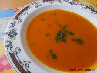 Martinina kuchyně: Dita P. - Dýňová polévka