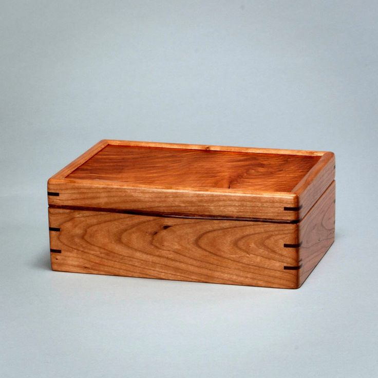 Wooden box keepsake stationery memory