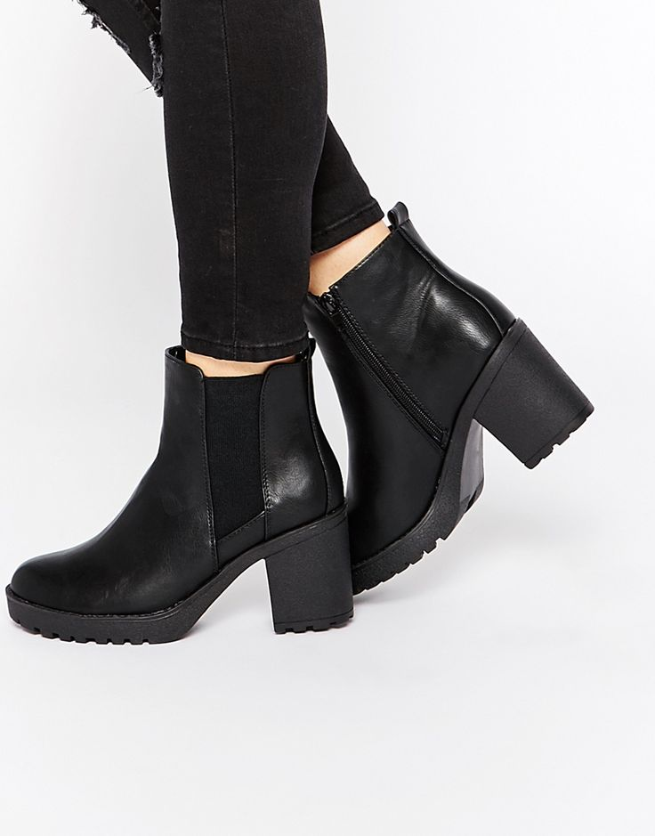 Image 1 ofOasis Heeled Ankle Boots