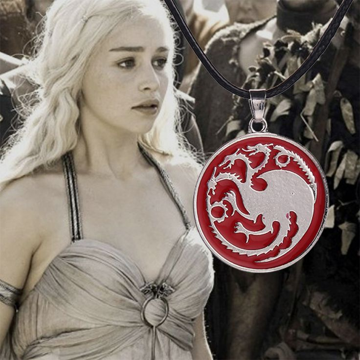 European And American Retro Pendant Movie Game Of Thrones Necklace Targaryen Dragon Badge Pendant Leather Chain Necklaces  //Price: $US $2.19 & FREE Shipping //     #gameofthrones #gameofthronestour #gameofthronesfamily  #starks