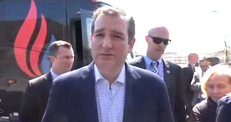 "Sleazy Bush NWO Operative Ted Cruz Denies Presumption Of Innocence | 3.30.16 |""Holier than thou hypocrite Ted Cruz calls the charging of Corey Lewandowski ""a very sad development,"" one which he then immediately proceeds to attempt to exploit to the maximum in an effort to discredit his opponent. We Americans have had enough. Donald Trump did nothing, it was he who was assaulted & he, who represents us, won't be stopped. He's going to take the power away from the Bush/Cruz machine & their…"