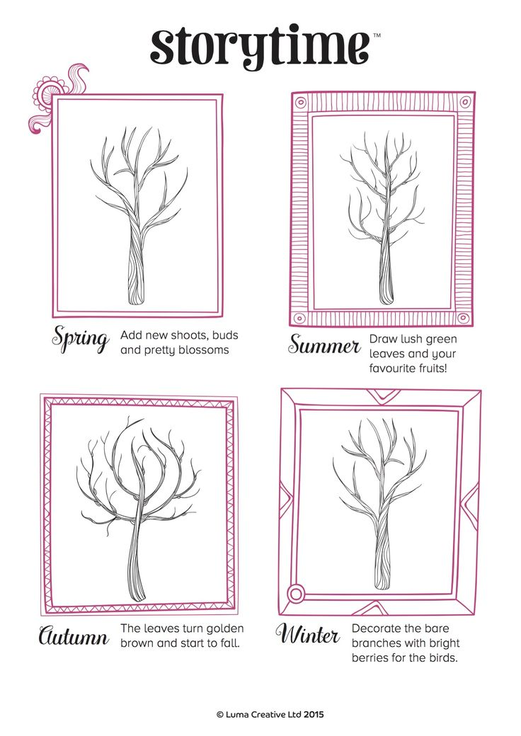 Learn about the seasons with this arty activity, inspired by the Greek myth of Persephone in Storytime 4 ~ STORYTIMEMAGAZINE.COM