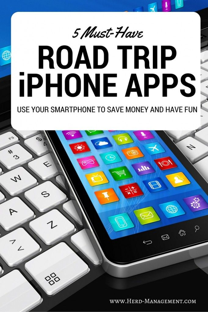 5 Must Have iPhone Apps for Road Trips for travel! Use this list to guide your next road trip vacation. My favorite is the Sit or Squat App!