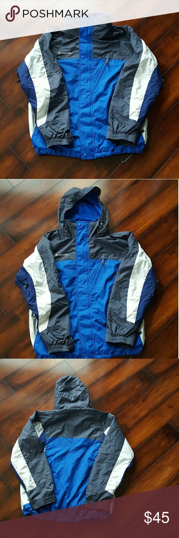 Men s columbia ski sbowboard jacket medium men s blue columbia ski sbowboard jacket size medium