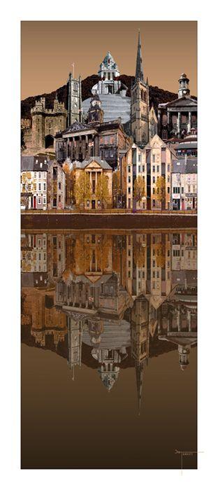 Lancaster uk Montage Reflection by Joseph Tamassy