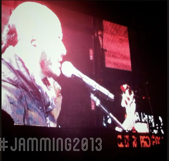 """ Jamming Festival- Bogotá"" - Mobile Picture/ Samsung Galaxy Y Android 2013 by @Mcsierritas"