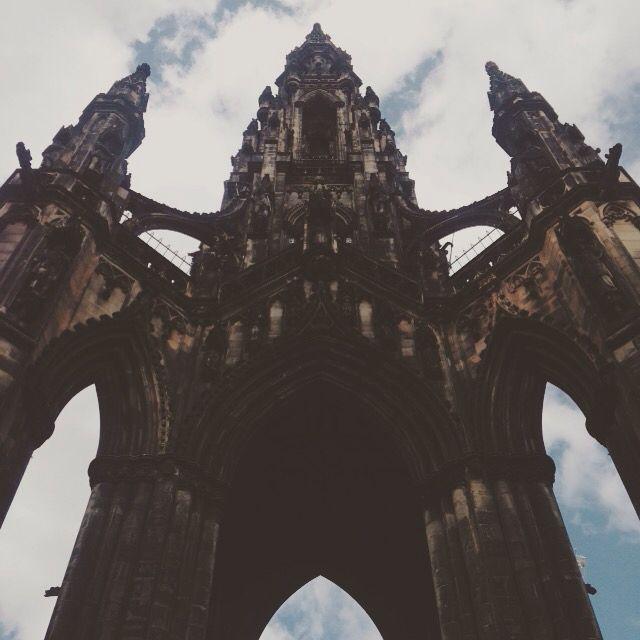 Walter Scott monument, Edinburg