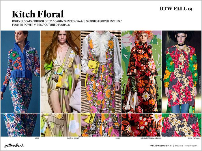 Fall 19 Catwalk Print Pattern Trend Report Fashion Fashion