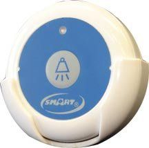 Smart Caregiver Nurse Call Button for 30-Channel Paging System by Smart Care. $26.02. Powered By One A23 Battery (Sold Separately). Push-Button Activation Transmits Wireless Signal To Resident Monitoring Unit While The Caregiver Is Notified On The Caregiver Pager. Nurse Call Button Can Be Worn Around Neck Or Mounted To Resident s Headboard. Allows Residents To Call Staff At Any Time. Allows Residents To Call Staff At Any Time - Push-Button Activation Transmits...