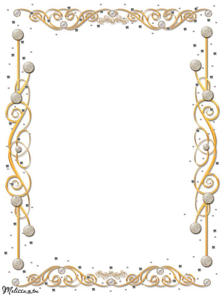 Frame | golden frame with gems png by Melissa-tm on deviantART