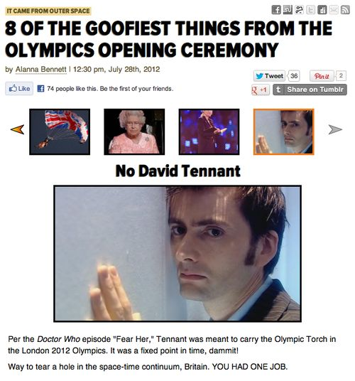 YOU HAD ONE JOB DAVID TENNANT, ONE JOB!