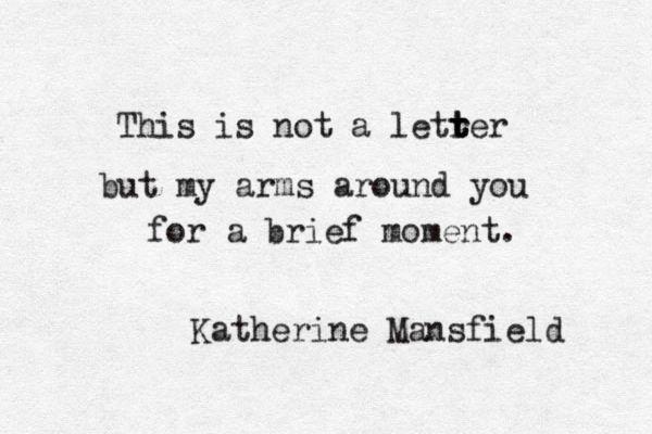 Katherine Mansfield •