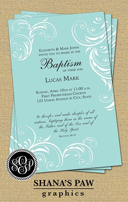 51 best baptism christening dedication images on pinterest a graceful calligraphy design and the scriptural message of christs call to baptism highlight this shanaspaw stopboris Choice Image