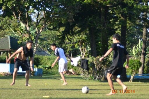The Game : Playing football