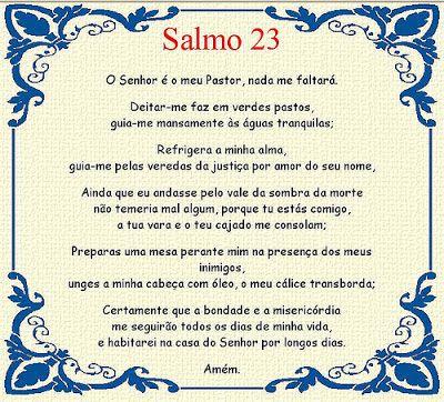 Salmo 23 - O Senhor é meu Pastor, nada me faltará... ~ Nisto Cremos - Sermões e Artigos Teológicos