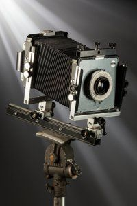 Ansel Adams' Arca-Swiss 4x5 View Camera Outfit used from 1964 to 1968 Comprising a 4x5 Arca-Swiss monorail camera, extra...