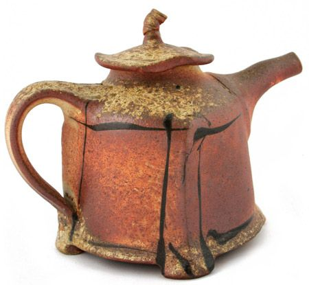 Wood Fired Teapot - Terry Osborne Pottery - Teapot Gallery