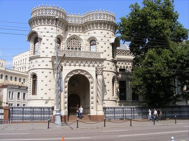 Необычная архитектура Москвы: особняк Арсения Морозова (Россия) | Terra-Z
