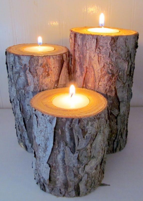 21 best Ideas for Logs and wood images on Pinterest | Log candle ...