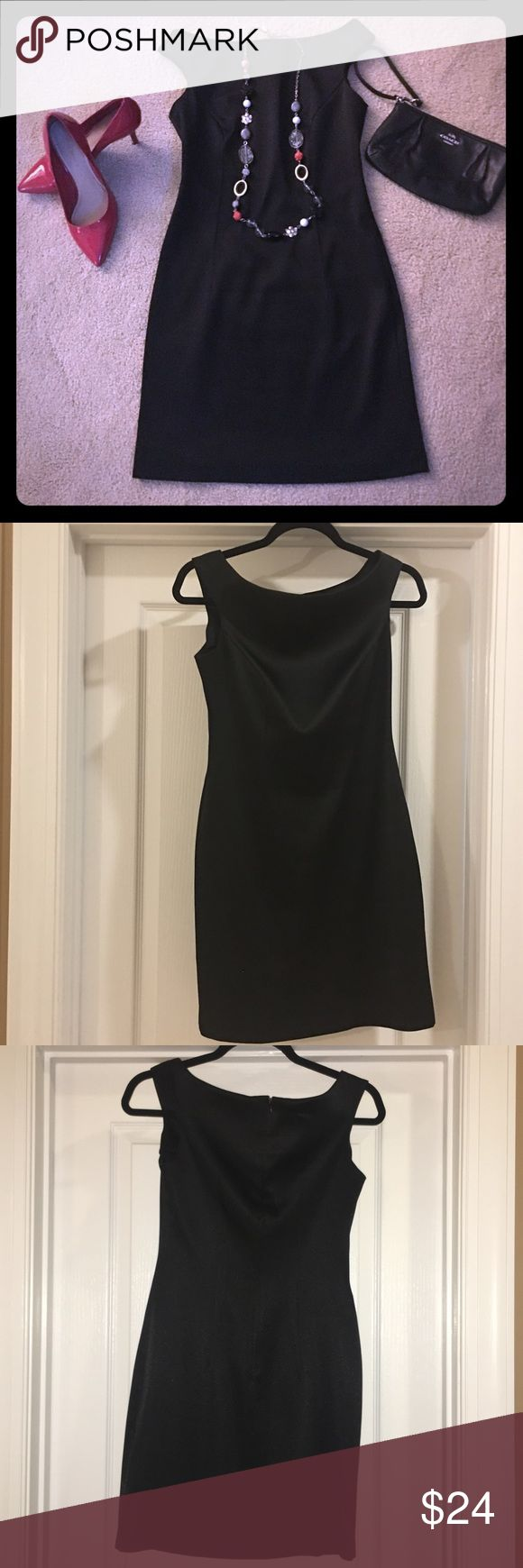 Chinese Laundry Petite Black Mini Dress Such a classic...every girl needs the perfect LBD! Amazingly strategic darting around the bust and in the back. This style will never be passé! EUC Chinese Laundry Dresses Mini