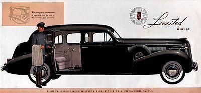 1937 Buick Limousine – Promotional Advertising Magnet