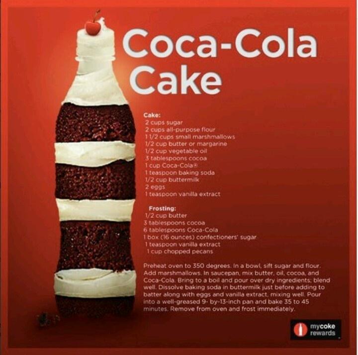 Coke Cake Recipe Using Cake Mix