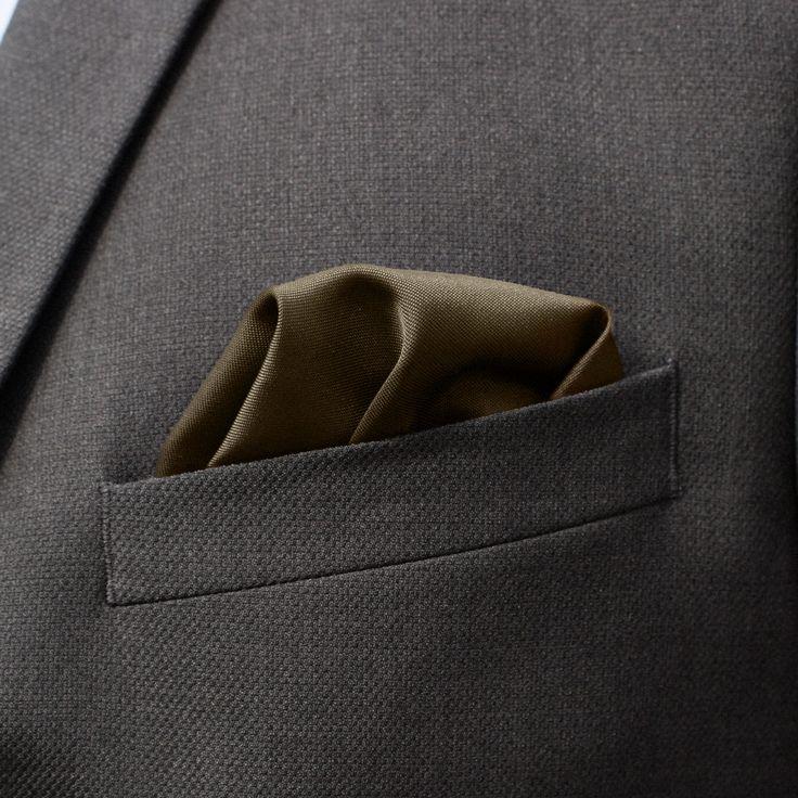 Pochette de costume marron - Trendhim