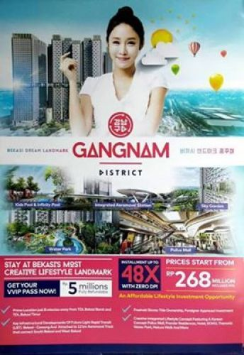 Apartemen+murah+di+Bekasi+Barat-Gangnam+District+Jl.Siliwangi+Bekasi+Barat,+Sepanjang+jaya+Rawa+Lumbu+»+Bekasi+»+Jawa+Barat