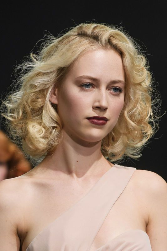Krótkie fryzury blond, Georges Chakra