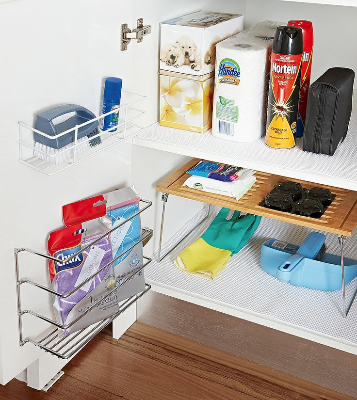 Save Time - Forget rummaging, it's a waste of time. Whether you're cleaning up or prepping for a meal, these clever little organisers will help save the day! Our range of utility caddies, shelf helpers and specialised baskets provide easy access to high use essentials.